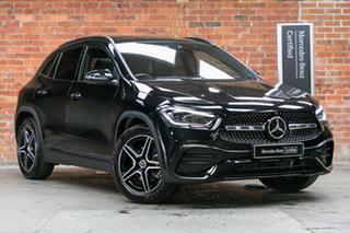 2021 Mercedes-Benz GLA-Class H247 801+051MY GLA200 DCT Cosmos Black 7 Speed.
