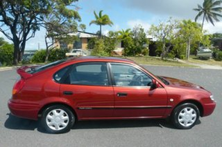 2001 Toyota Corolla AE112R Ascent Maroon 5 Speed Manual Liftback.