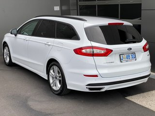 2015 Ford Mondeo MD Ambiente White 6 Speed Sports Automatic Wagon
