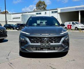 2021 Hyundai Kona Os.v4 MY21 N-Line D-CT AWD Premium Dark Knight 7 Speed.