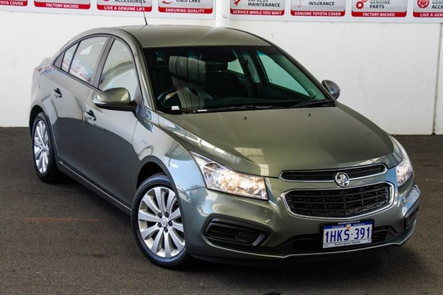 Pre-Owned Holden Cruze JH MY16 Equipe Rockingham, 2016 Holden Cruze JH MY16 Equipe 6 Speed Automatic Sedan