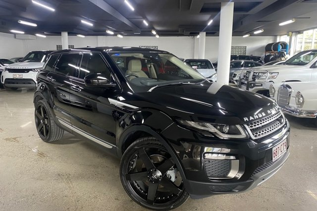 Used Land Rover Range Rover Evoque L538 MY17 HSE Albion, 2016 Land Rover Range Rover Evoque L538 MY17 HSE Black 9 Speed Sports Automatic Wagon