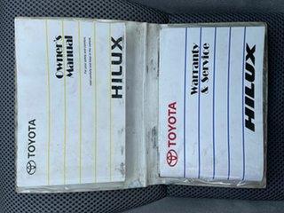 2011 Toyota Hilux KUN26R SR White 4 Speed Automatic Dual Cab