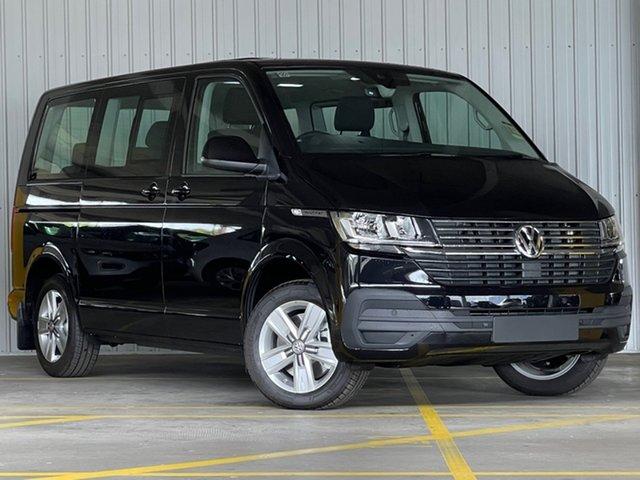 New Volkswagen Multivan T6.1 MY21 TDI340 SWB DSG Comfortline Premium Moorabbin, 2021 Volkswagen Multivan T6.1 MY21 TDI340 SWB DSG Comfortline Premium Black 7 Speed