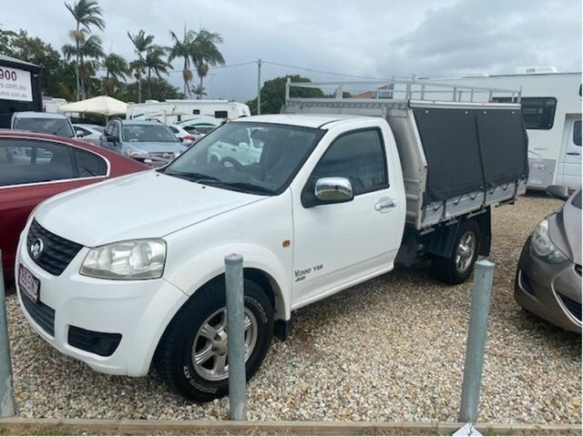 Used Great Wall V200 K2 (4x4) Arundel, 2012 Great Wall V200 K2 (4x4) White 6 Speed Manual Cab Chassis