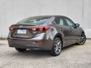 2017 Mazda 3 BN5238 SP25 SKYACTIV-Drive Astina Brown 6 Speed Sports Automatic Sedan.