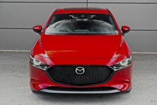 2021 Mazda 3 BP2HLA G25 SKYACTIV-Drive Astina Red 6 Speed Sports Automatic Hatchback.