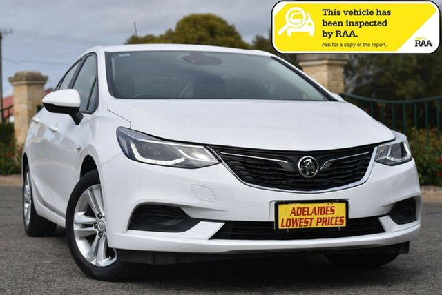 Used Holden Astra BL MY18 LS Enfield, 2018 Holden Astra BL MY18 LS White 6 Speed Sports Automatic Sedan