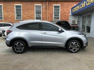2020 Honda HR-V MY21 VTi-LX Silver 1 Speed Constant Variable Hatchback.