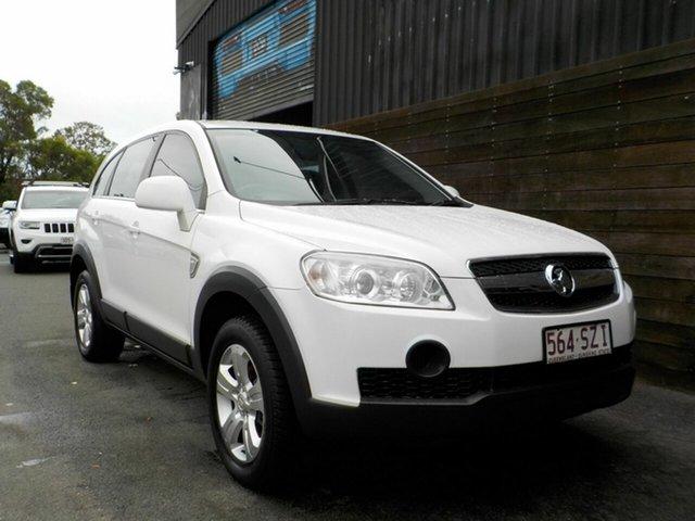 Used Holden Captiva CG MY09 SX Labrador, 2008 Holden Captiva CG MY09 SX White 5 Speed Sports Automatic Wagon