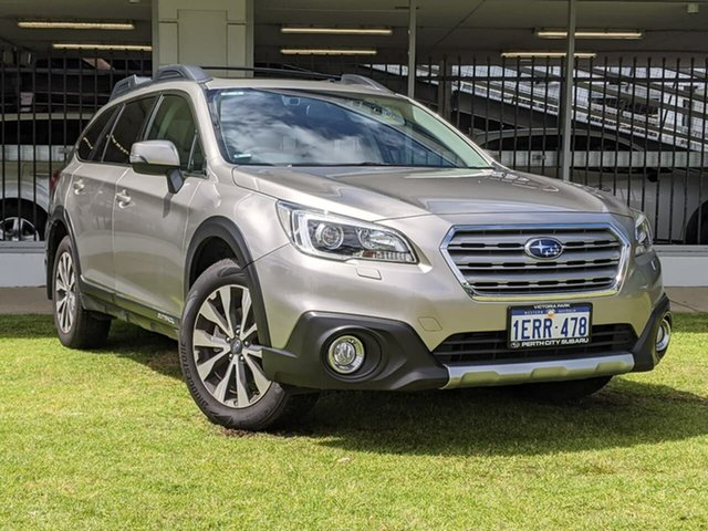 Used Subaru Outback B6A MY16 2.5i CVT AWD Premium Victoria Park, 2015 Subaru Outback B6A MY16 2.5i CVT AWD Premium Brown 6 Speed Constant Variable Wagon