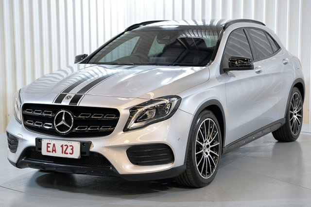 Used Mercedes-Benz GLA-Class X156 807MY GLA250 DCT 4MATIC Hendra, 2016 Mercedes-Benz GLA-Class X156 807MY GLA250 DCT 4MATIC Silver 7 Speed