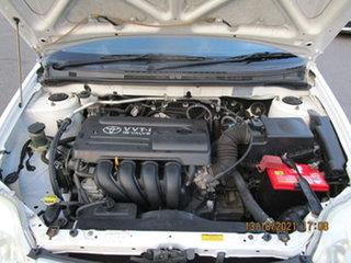 2004 Toyota Corolla ZZE122R Ascent White 5 Speed Manual Sedan