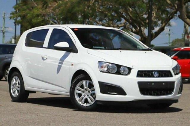 Used Holden Barina TM MY16 CD Arundel, 2016 Holden Barina TM MY16 CD White 6 Speed Automatic Hatchback