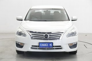 2016 Nissan Altima L33 ST X-tronic Pearl White 1 Speed Constant Variable Sedan.