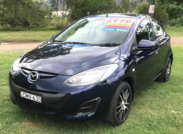 Used Mazda 2 DE10Y2 MY13 Neo Tamworth, 2013 Mazda 2 DE10Y2 MY13 Neo Blue 4 Speed Automatic Hatchback