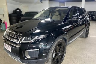 2016 Land Rover Range Rover Evoque L538 MY17 HSE Black 9 Speed Sports Automatic Wagon