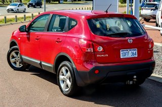 2010 Nissan Dualis J10 MY2009 Ti Hatch X-tronic Red 6 Speed Constant Variable Hatchback.
