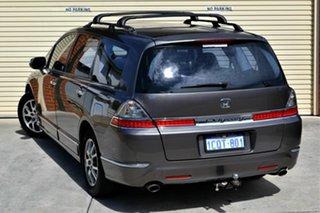 2007 Honda CR-V RE MY2007 Luxury 4WD Grey 5 Speed Automatic Wagon
