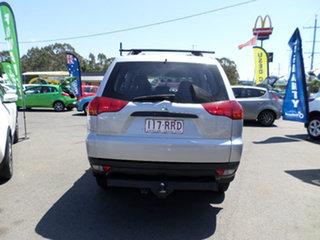 2011 Mitsubishi Challenger Silver Manual Wagon.