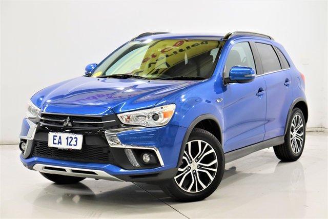 Used Mitsubishi ASX XC MY18 LS 2WD Brooklyn, 2018 Mitsubishi ASX XC MY18 LS 2WD Blue 1 Speed Constant Variable Wagon
