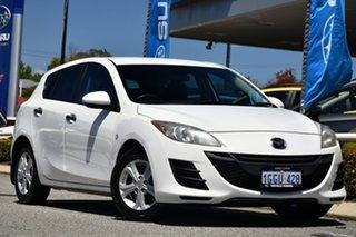 2010 Mazda 3 BL10F1 Neo White 6 Speed Manual Hatchback.