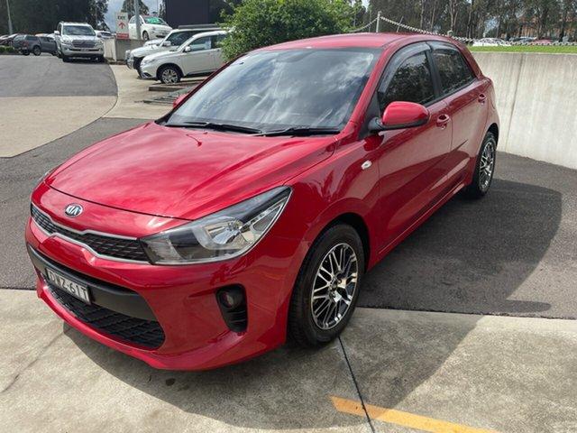Used Kia Rio YB MY18 S Maitland, 2018 Kia Rio YB MY18 S Signal Red 4 Speed Sports Automatic Hatchback