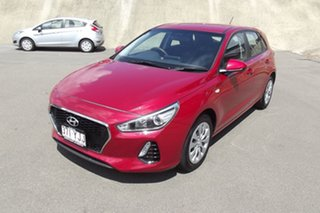 2018 Hyundai i30 PD MY18 Go Red 6 Speed Sports Automatic Hatchback.