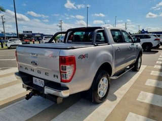 2013 Ford Ranger PX XLT 3.2 (4x4) Silver 6 Speed Automatic Double Cab Pick Up