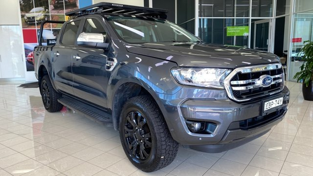 Used Ford Ranger PX MkIII 2019.00MY XLT Cardiff, 2019 Ford Ranger PX MkIII 2019.00MY XLT Grey 6 Speed Sports Automatic Double Cab Pick Up