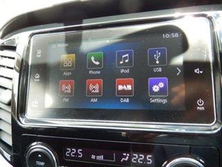 2018 Mitsubishi Triton MQ MY18 GLS (4x4) Sports Edt White 6 Speed Manual Dual Cab Utility