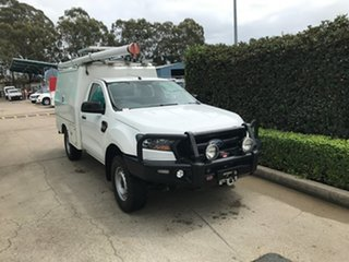 2017 Ford Ranger PX MkII 2018.00MY XL White 6 speed Automatic Cab Chassis.