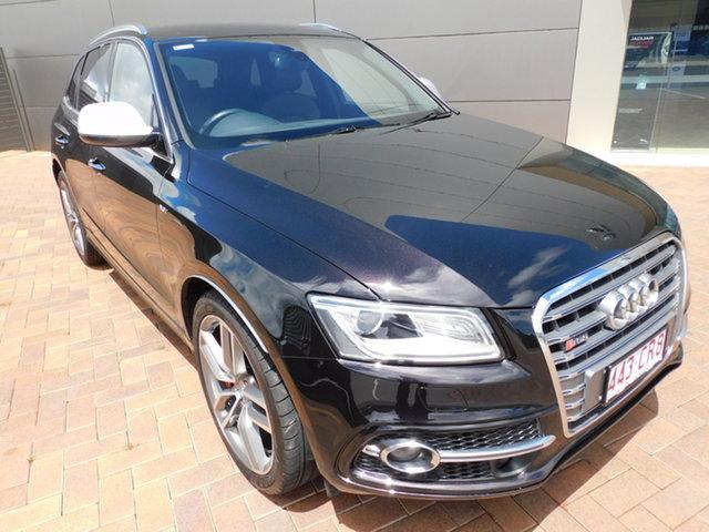 Used Audi SQ5 8R MY15 TDI Tiptronic Quattro Toowoomba, 2014 Audi SQ5 8R MY15 TDI Tiptronic Quattro H8h8 Panther Black 8 Speed Sports Automatic Wagon