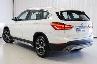 2019 BMW X1 F48 sDrive18d Steptronic White 8 Speed Sports Automatic Wagon.