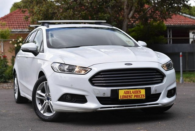 Used Ford Mondeo MD Ambiente Melrose Park, 2016 Ford Mondeo MD Ambiente White 6 Speed Sports Automatic Dual Clutch Wagon