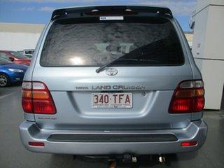 2002 Toyota Landcruiser HDJ100R GXL Advantage (4x4) Silver 4 Speed Automatic Wagon.