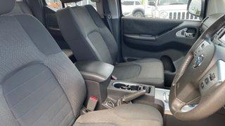 2012 Nissan Navara D40 MY12 ST (4x2) White 5 Speed Automatic Dual Cab Pick-up
