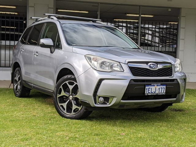 Used Subaru Forester S4 MY14 XT Lineartronic AWD Victoria Park, 2014 Subaru Forester S4 MY14 XT Lineartronic AWD Silver 8 Speed Constant Variable Wagon