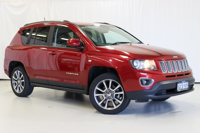 Used Jeep Compass MK MY16 Limited CVT Auto Stick Wangara, 2016 Jeep Compass MK MY16 Limited CVT Auto Stick Red 6 Speed Constant Variable Wagon