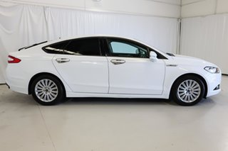 2015 Ford Mondeo MD Trend White 6 Speed Sports Automatic Dual Clutch Hatchback.