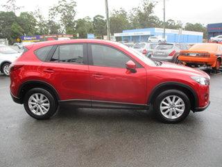 2014 Mazda CX-5 MY13 Upgrade Maxx Sport (4x4) Burgundy 6 Speed Automatic Wagon.