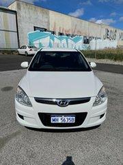 2010 Hyundai i30 FD MY10 SX White 5 Speed Manual Hatchback.