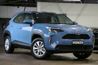 2020 Toyota Yaris Cross MXPJ15R GX AWD Mineral Blue 1 Speed Constant Variable Hatchback.