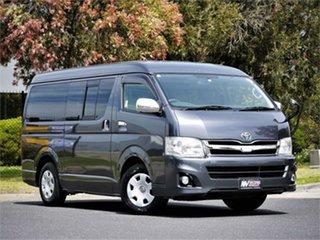 2012 Toyota HiAce TRH211 Super GL Grey 4 Speed Automatic Van.