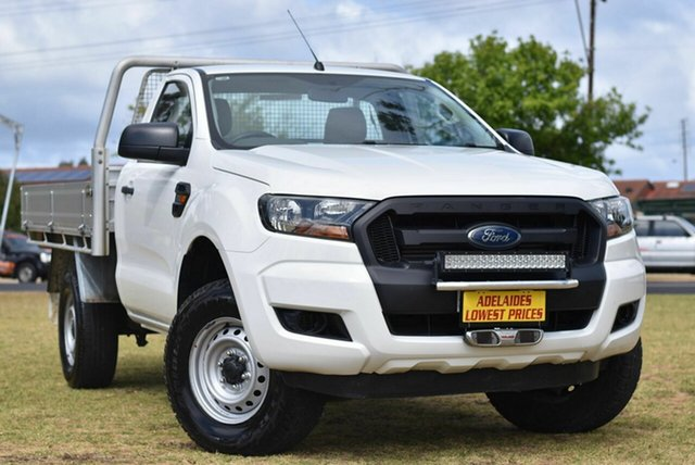Used Ford Ranger PX MkII XL Hi-Rider Cheltenham, 2016 Ford Ranger PX MkII XL Hi-Rider White 6 Speed Manual Cab Chassis