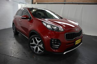 2016 Kia Sportage QL MY16 Platinum (AWD) Red 6 Speed Automatic Wagon.
