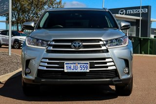 2019 Toyota Kluger GSU50R GXL 2WD Silver/leather Accented Black 8 Speed Sports Automatic Wagon