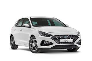 2021 Hyundai i30 PD.V4 MY21 Active Polar White 6 Speed Automatic Hatchback