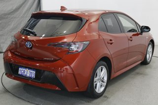 2018 Toyota Corolla ZWE211R Ascent Sport E-CVT Hybrid Volcanic Red 10 Speed Constant Variable