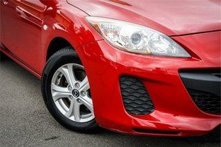 2013 Mazda 3 BL10F2 MY13 Neo Red 6 Speed Manual Hatchback.